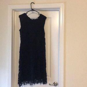 Navy lace, size 8 NY&Co dress. NWT, never worn.